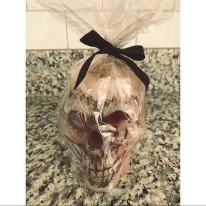 Bleeding Wax Skull Candle